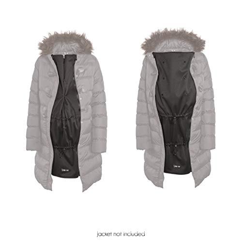 Jackenerweiterung - Verwandeln Sie ihre eigene Jacke oder Mantel in eine Mutterschafts oder Babyjacke