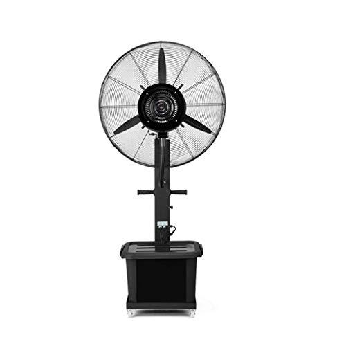 Ventilador De Pedestal Enfriamiento Nebulizador De Rocío Humidificador Torre Silenciosa Atomización...