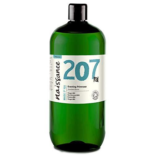 Naissance Nachtkerzenöl 1 Liter (1000ml) BIO zertifiziert 100% rein