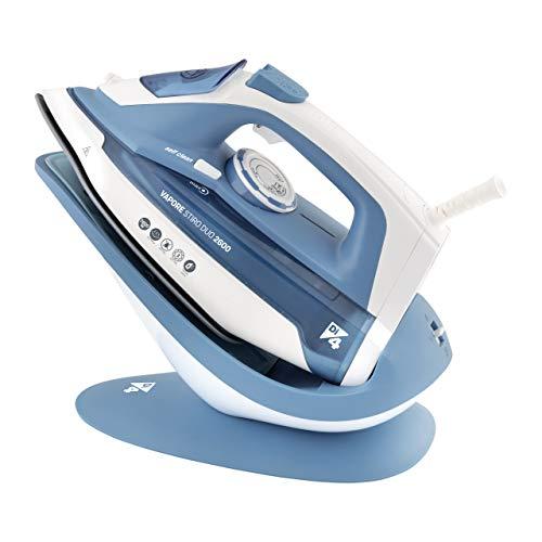 Di4 Stiro Duo 2600 Plancha de vapor, W, 0.28 litros, Plástico, Azul, Blanco