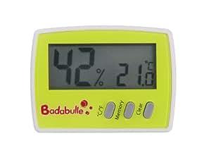 Badabulle Sécurité Domestique, Thermomètre, Hygromètre