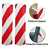 LETACAR Protector Paragolpes Coche, 40 * 15 cm Protector Columnas Garaje, Protección para...