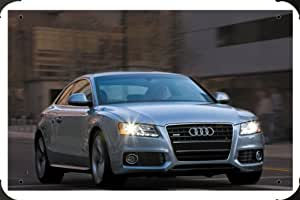 Audi A5 3 2 S Line Coupe Us Specifications 3 Metal Poster enseigne marque 40x60cm