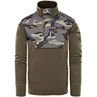 THE NORTH FACE B Surgent ¼ Zip New Taupe Green L (Kids)