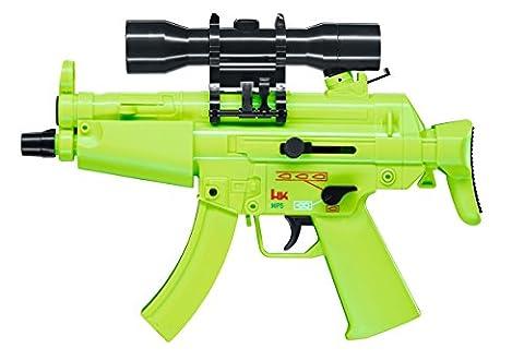 Heckler & Koch MP 5 in verkleinerter Ausführung Leuchtende Farben (Grün)