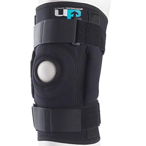 Ultimate Performance Aufklappbare Kniebandage Schwarz 3XL