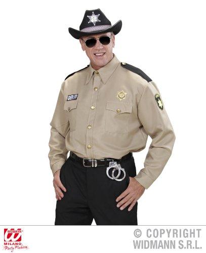 KOSTÜM - SHERIFF - M/L (Sheriff Herren Kostüm)