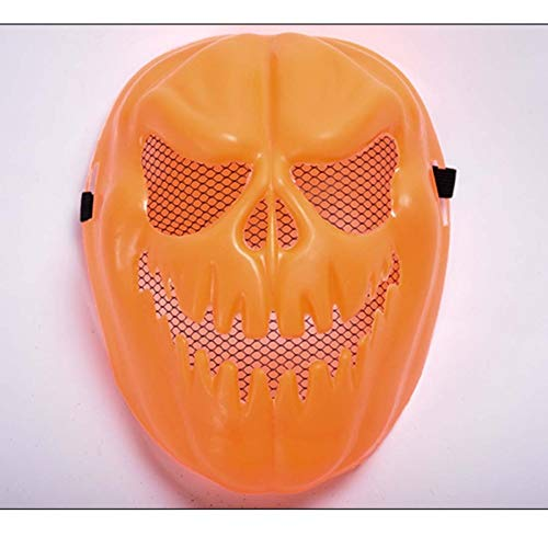 SPFAZJ Aufblasbarer Kürbis Lampe Skull Halloween Streich Spielzeug Kinder Maske Cartoon Anime Spielen Dekoration