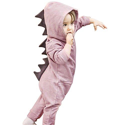 irl Halloween Dinosaurier Kostüm Neugeborene Kleinkind Overall size 1-2 Years (Pink) (Neugeborenen-halloween-kostüme)