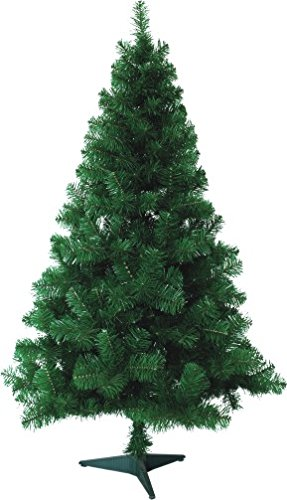huigou HG® Weihnachtsbaum Tannenbaum Tanne Zweige Dekobaum mit Metallständer Natur schwer entflammbar sehr schneller