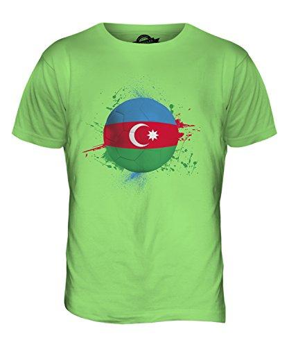 CandyMix Aserbaidschan Fußball Herren T Shirt Limettengrün