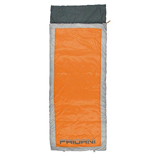 Fridani qo 225s xl sacco a pelo camping fino a -7°c outdoor sacco a pelo 225x 85cm sacco a pelo con 1800g per 3/4stagioni primavera estate autunno