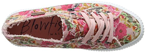Blowfish Damen Coyote Sneaker Multicolour (Dirty Pink)