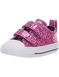 Clothing, Shoes & Accessories Converse All Star 2 V Strap Hyper Royal Babies Girls Infant Toddler Canvas Shoes Choice Materials