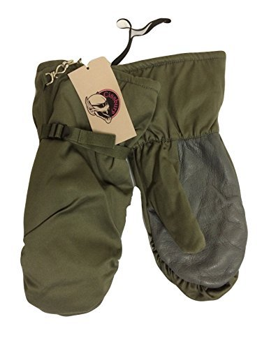 german-army-issue-goretex-faux-fur-lined-snow-mittsover-mitts-size-l