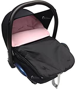car seat footmuff cosy toes compatible with maxi cosi pebble cabrio light pink baby. Black Bedroom Furniture Sets. Home Design Ideas