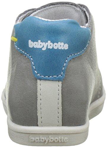 Babybotte Footing, Bottillons Bébé Garçon Gris (Gris/Bleu)