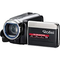 Rollei Movieline SD 15 Camcorder (5 Megapixel, 10-fach optischer Zoom, 4-fach digitaler Zoom, 7,62 cm (3,0 Zoll) Display)