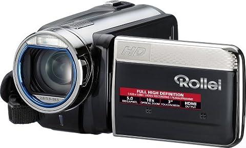 Rollei Movieline SD 15 Camcorder (5 Megapixel, 10-fach optischer Zoom, 4-fach digitaler Zoom, 7,62 cm (3,0 Zoll) Display)