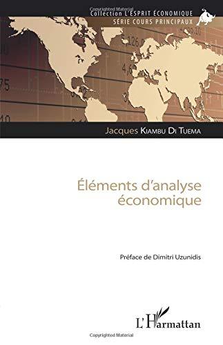 Eléments d'analyse économique par Jacques Kiambu Di Tuema