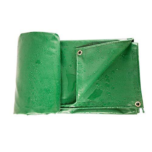 Bâche Verte, pour la Tente/auvent/Camping/Bateau/Toit, résistante antipoussière imperméable (Taille : 3×4m)