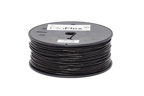 BQ Fila Flex - Filamento elástico para impresoras 3D, color negro