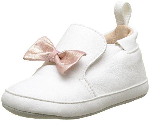 SHOO POM Baby Mädchen CHOU Knot Babyschuhe, Weiß (Blanc 5304ON STEAM/SIDON OPBLANC/Rose), 19 EU