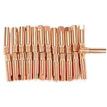 25 Piezas Tubo de contacto M6 ⌀0,9mm MAG/MIG Punta la antorcha