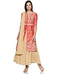 4e545c467 Amazon.in: Pinks - Salwar Suits / Ethnic Wear: Clothing & Accessories