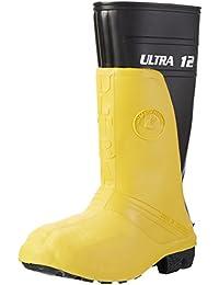 Nora Ultra 12, Herren Sicherheitsstiefel, Schwarz (schwarz-gelb 14), 41 EU