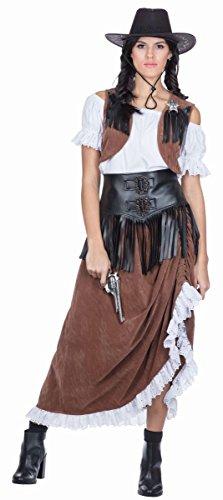 Damen Kostüm Western Lady Cowgirl Karneval Gr.42 (Womens Cowgirl Kostüme)
