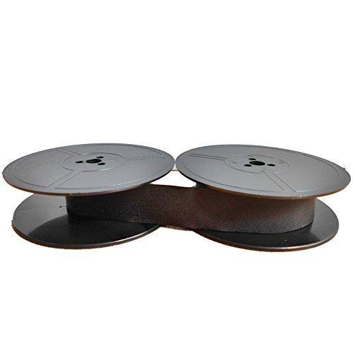 Farbband schwarz für DIN 32755 - 53mm Durchmesser Doppelspule, kompatibel Marke Faxland