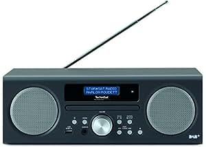 TechniSat TECHNIRADIO DIGIT CD Digital-Radio mit CD-Player, MP3-Player, DAB+, PLL-UKW Tuner, USB, 10 Watt RMS, anthrazit