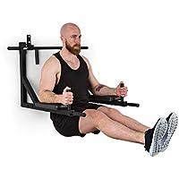 Klarfit Hangman MultiGym Máquina de dominadas y dips Entrenamiento múltiple: Brazos, Hombros, Espalda