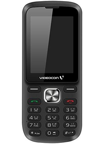 Videocon Bazoomba V2DA Dual SIM Feature Phone (Black-Silver) image
