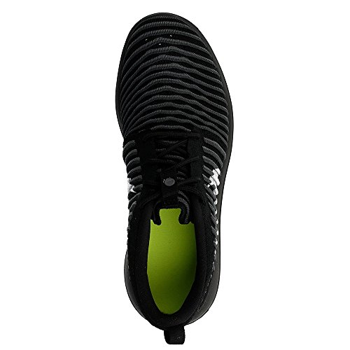 Nike Roshe Two Flyknit (Gs), Chaussures de Running Entrainement Homme Noir (Black (noir / blanc-anthracite-gris foncé))