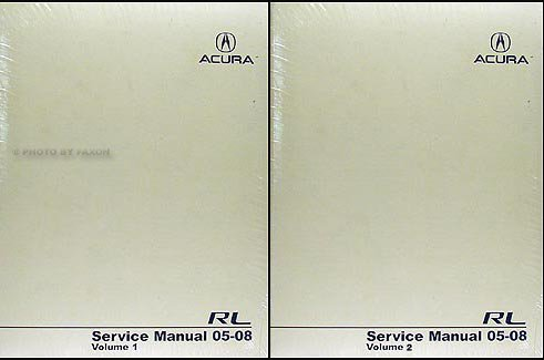 2005-2008-acura-rl-repair-shop-manual-original-2-volume-set