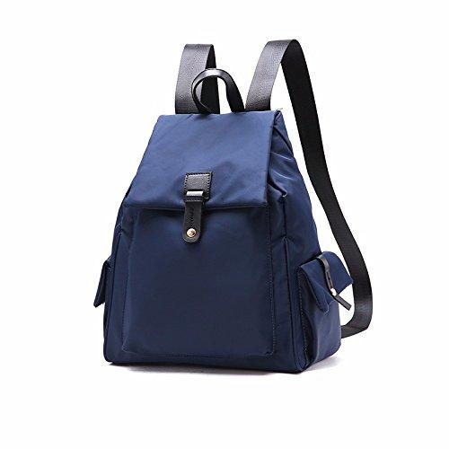 oxford leinwand lady rucksack,blau blau