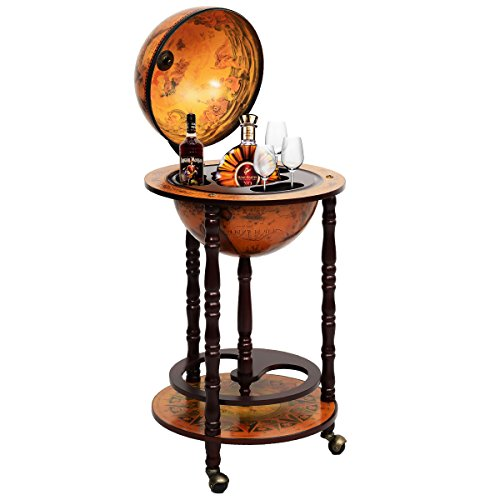 Globusbar Globus Bar Minibar Hausbar Weltkugel Cocktailbar Dekobar Tischbar NEU