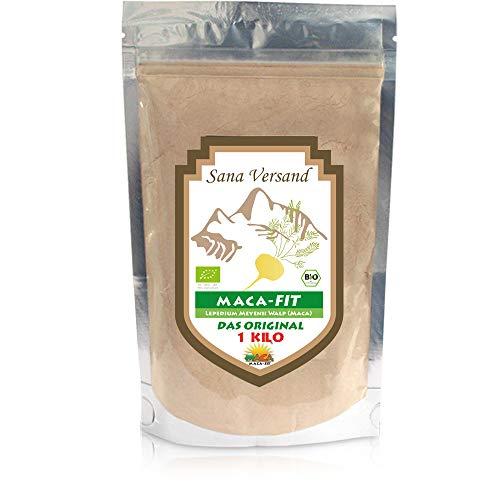 Maca 1 kg polvo puro de la raíz de maca organica, polvo de Maca original del Peru