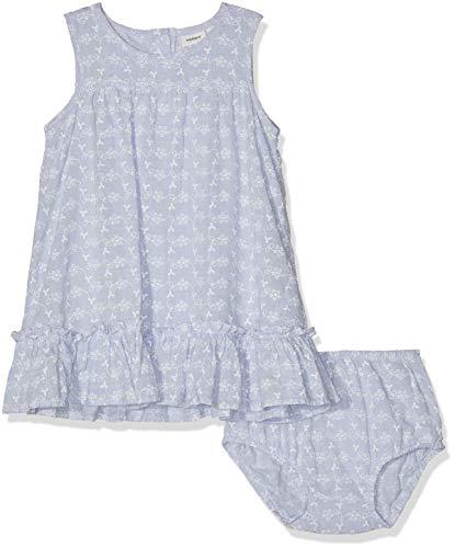 NAME IT Baby-Mädchen NBFFAIRY SPENCER W. BRIEF Bekleidungsset, Blau (Skyway), (Herstellergröße: 80)
