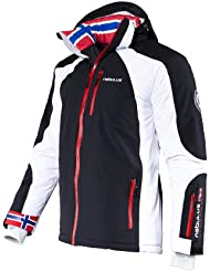 Nebulus Men's High End Platinum Davos Ski/Snowboard/Winter Jacket