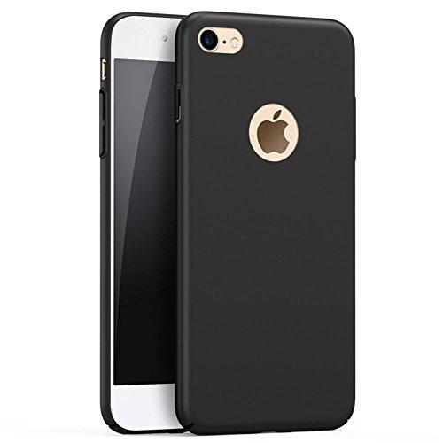 Ultra Sottile Custodia Cover Case Protettiva Apple iPhone 6Plus 6sPlus 5.5 Guscio Rigido (Nero) Nero