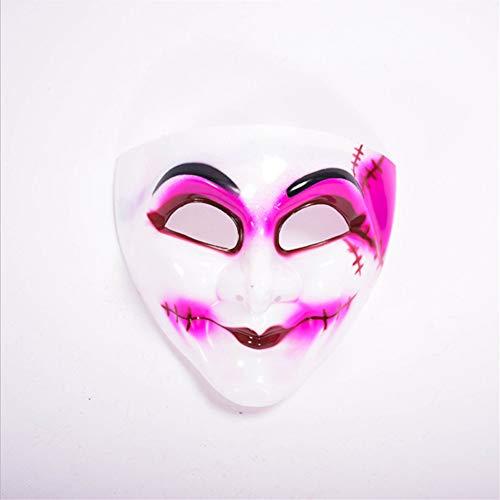 Mddrr Gesichts-Clown des Halloween Venedig-Maskeradenshow-Horrors Kleiden Oben Horrorschrei-Märchen sexy Augenmaske an