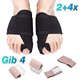 Hallux Valgus Schiene Gib 4 Hallux valgus Korrektur bandage Hilfe bei Hallux Valgus und Schmerzlinderung