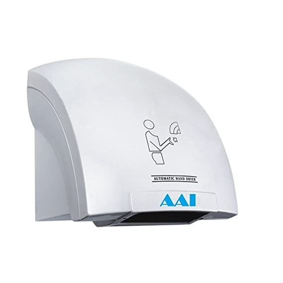 AAI Plastic Automatic Sensor Activated HIGH Jet Speed Hand Dryer