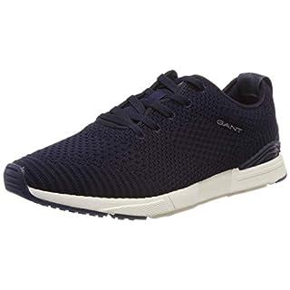 GANT Footwear Herren Atlanta Sneaker, Blau (Marine G69), 42 EU