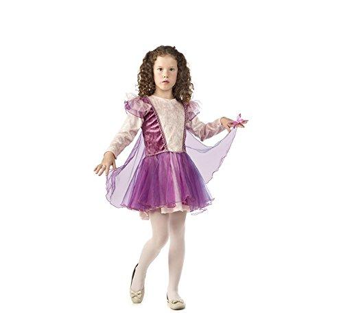 Imagen de disfraz de hada bailarina rosa para niña