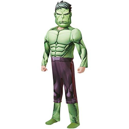 Deluxe Kostüm Marvel Hulk Kind - Rubie 's 640893Offizielles Marvel Avengers Hulk Deluxe Kind costume-age Höhe 140cm, Jungen, 9-10