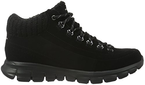 Skechers Synergy Winter Nights, Stivali Bassi Non Imbottiti Donna Nero (BBK)
